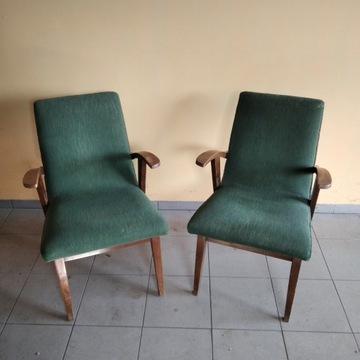 Fotel PRL M. Puchała 300-123 2 szt. oryginał
