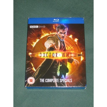 DOCTOR WHO THE COMPLETE SPECIALS (5 BLU-RAY)