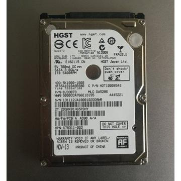 Dysk Hitachi 1TB TRAVELSTAR 5K1000 1TB 2,5 cala