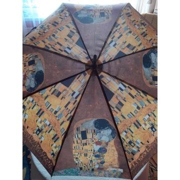 Parasol Klimt Pocałunek  nowy