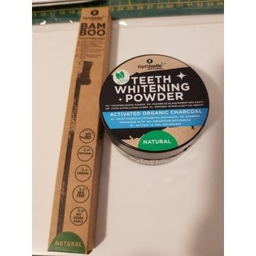 Zestaw do wybielania zębów (proszek+szczoteczka)