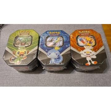 Pokemon TCG Galar Partners zestaw 3 puszek