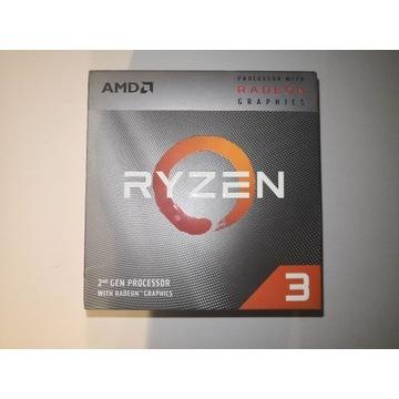 Procesor AMD Ryzen 3 3200G 4x3,6 GHz - nieużywany