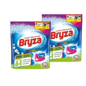 Bryza 4w1 Spring Kapsułki do prania Kolor 100szt