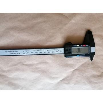 Suwmiarka elektroniczna z noniuszem 0-150mm