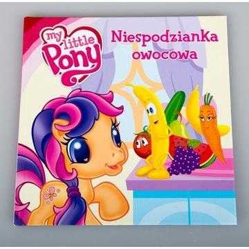 My Little Pony Niespodzianka owocowa duże litery