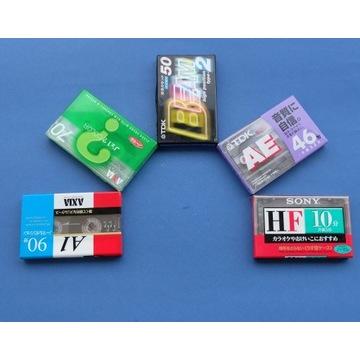 Japońskie kasety magnetofonowe, folia