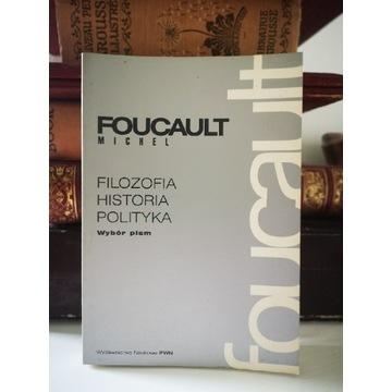 Książka Filozofa Historia Polityka Michel Foucault
