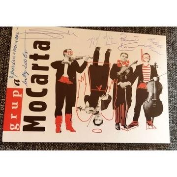 Grupa MoCarta autografy