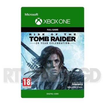 RISE OF THE TOMB RAIDER 20 YEAR PL XBOX ONE KLUCZ