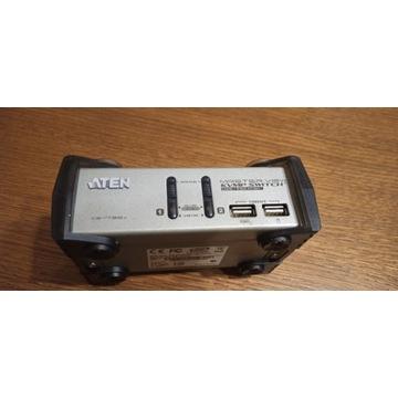 ATEN switch KVM USB 2-portowy