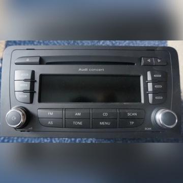 Fabryczne radio Audi - A3 Sportback 2012