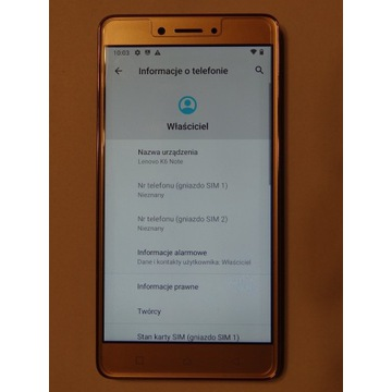 K6 Note K53a48 - usługa wgrania androida 11