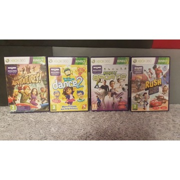 Gry Xbox  360 dance2 sports rush adventures