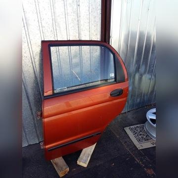 Daewoo Matiz---drzwi tył ceglaste 75U---super Łódź