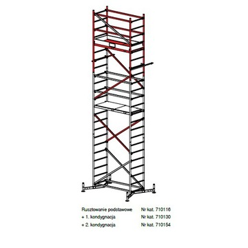 Rusztowanie Krause ClimTec 7m+rolki