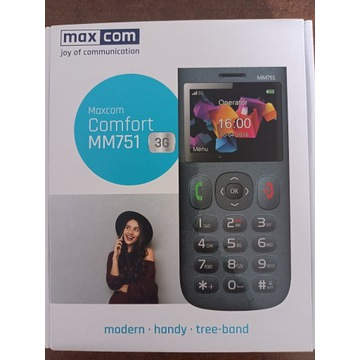 Telefon MAXCOM comfort MM751 3G