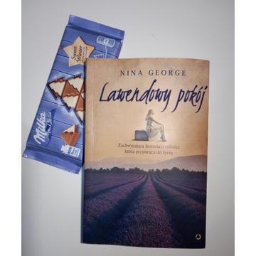 """""""Lawendowy pokój"""" Nina George - książka na zbiórkę"""