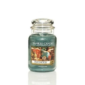 Yankee Candle Patchouli świeca zapachowa duża