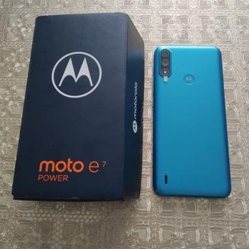 MOTOROLA E7 POWER - tahiti blue 64 GB - nowy