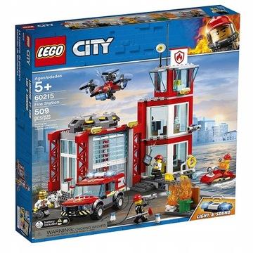 LEGO CITY 60215 REMIZA STRAŻACKA!!! TANIO!!!