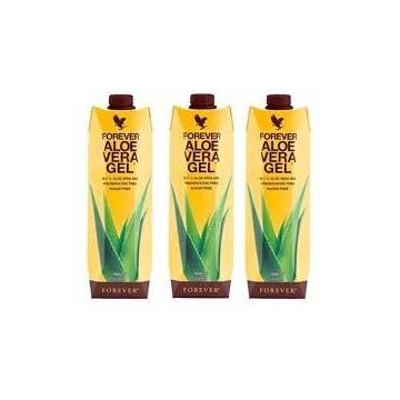 Czysty Aloes do picia z witaminą C Forever trójpak