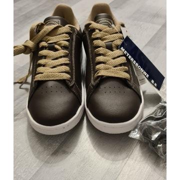 Nowe brązowe buty streetwear rozmiar 40