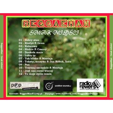 ReggaeMan Smak miłości CD Polskie reggae UNIKAT
