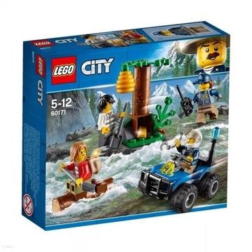 KLOCKI LEGO CITY 60171 Uciekinierzy w górach Nowe