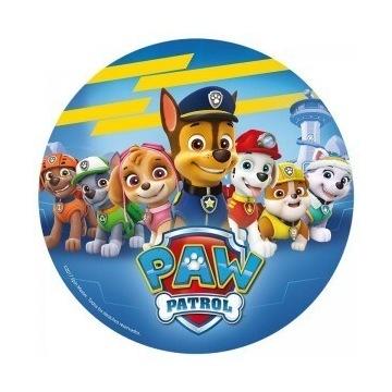 Opłatek na Tort Gruby Psi Patrol
