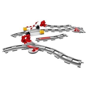 -= LEGO DUPLO 10882 - TORY KOLEJOWE =-