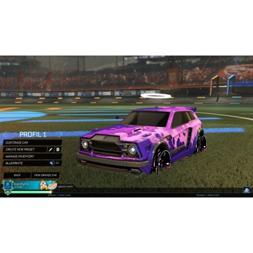Rocket league konto
