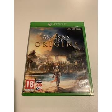 Assassins Creed Origins Xbox Pudełko PL