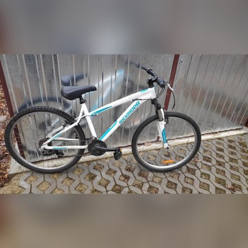 Rower miejski Rockrider 5.1 Biały Shimano