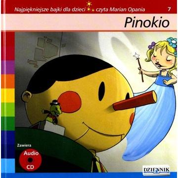 PINOKIO AUDIOBOOK CD