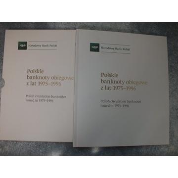 Album NBP Polskie banknoty obiegowe 1975/1996 UNC