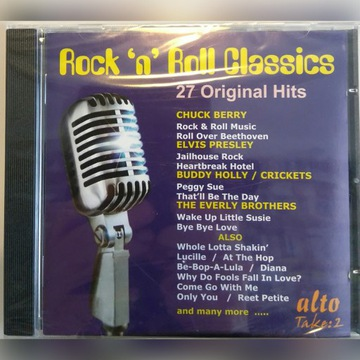 ROCK N ROLL CLASSICS 27 ORIGINAL HITS CD