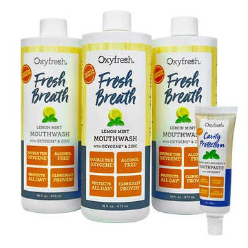 Płukanka Fresh Breath Oxyfresh & Zinc