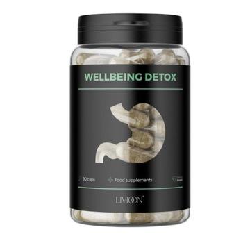 Wegański naturalny suplement diety Wellbeing Detox