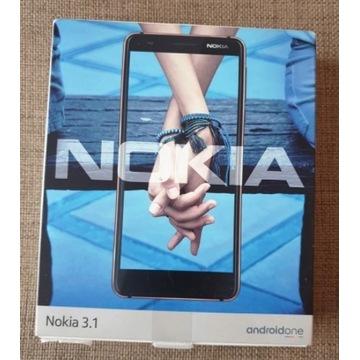 NOKIA 3.1 używana jak nowa DUAL SIM