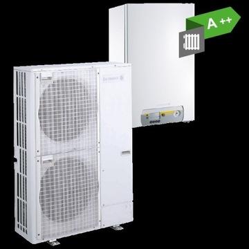Powietrzna pompa ciepła 8 kW De Dietrich + montaż