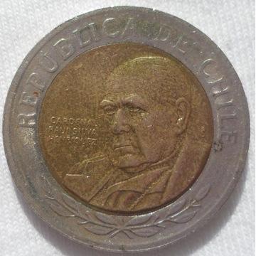 Chile 500 pesos 2003 Kardynal Raul Silva Henriquez
