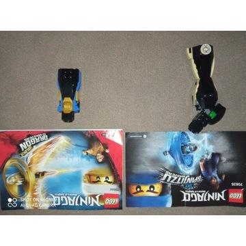 Zestawy LEGO ninjago 70635 i 70644
