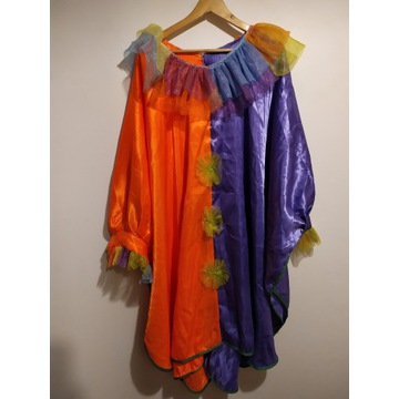 Strój przebranie bluza claun klaun klown magik XL