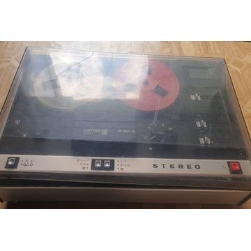 Magnetofon szpulowy UNITRA ZRK M1417S z PRL'u