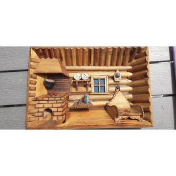 Stara chata -rękodzieło