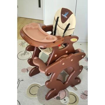 Krzesełko do karmienia Caretero Primus (brązowe)
