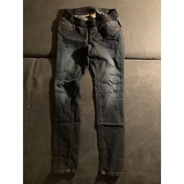 Jeansy ciążowe r. 36