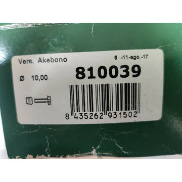 Zestaw naprawczy prowadnicy 810039Frenkit