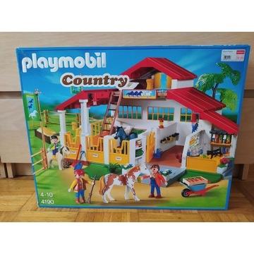 Playmobil duża stajnia stadnina 4190